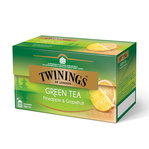 Twinings Green Tea Pineapple & Grapefruit Grüntee