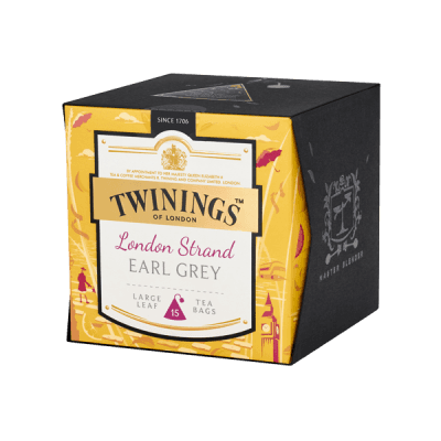 Twinings London Strand Earl Grey Platinum Tee Schwarztee
