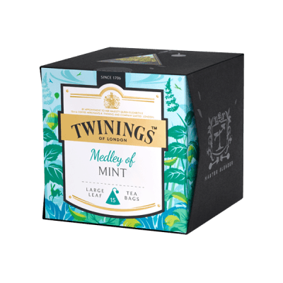 Twinings Medley of Mint Platinum Tee