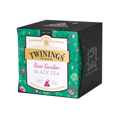 Twinings Rose Garden Black Tea Platinum Tee Schwarztee